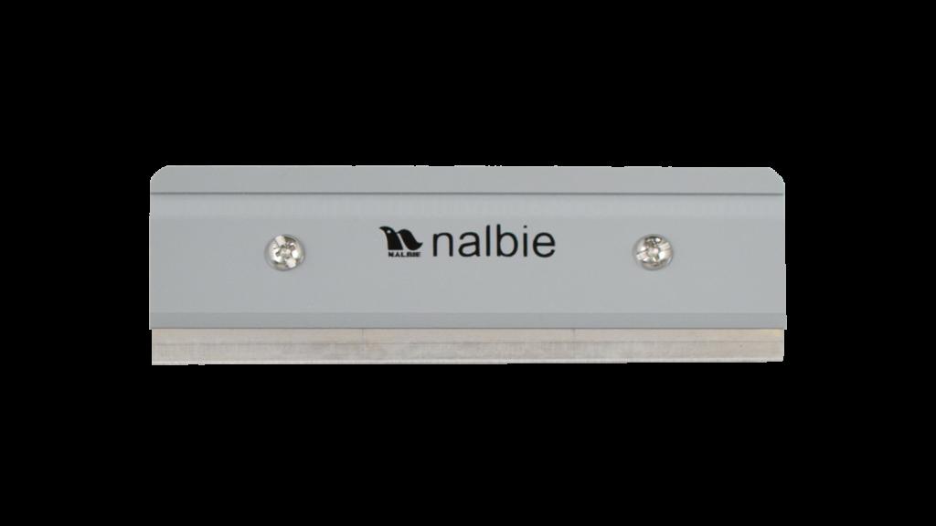 ナルビーのスクイジー用三枚刃ホルダー。スクイジー用のハンドルにセットしてお使いください。