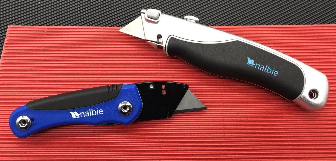 2020年発売のナルビー製「ポータブルナイフ」と「ユーティリティナイフ」