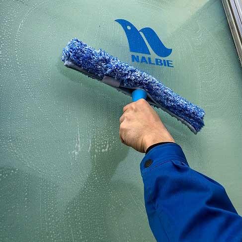 窓掃除の必需品、ナルビーのシャンパーセット